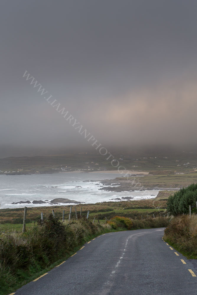 Storm Clouds Decending Over Allihies, West Cork Ireland