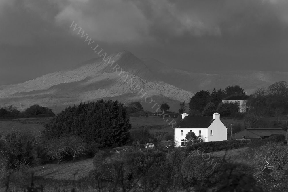 House With Sugarloaf Mountain, Bantry, Ireland