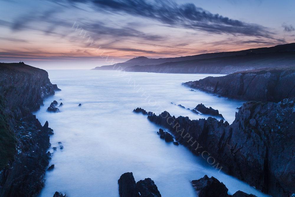 Sunset Dooneen Sheeps Head West Cork Ireland