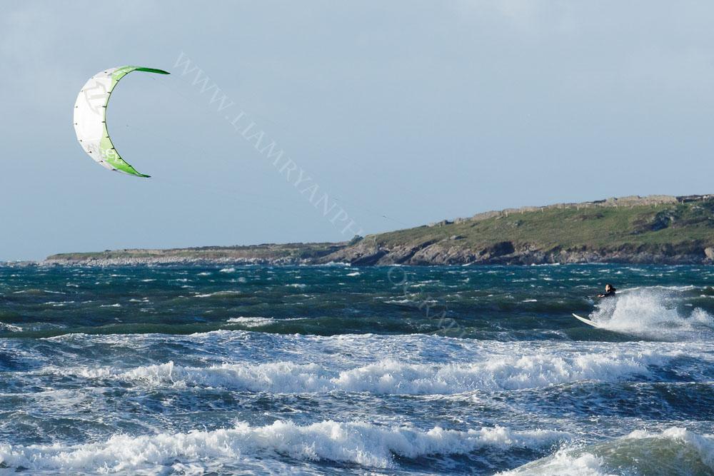 Kite surfing, Brandon Bay, Co.Kerry