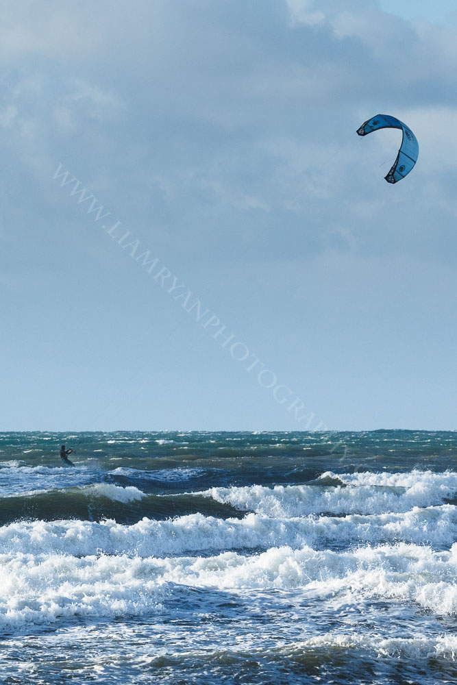 Kite Surfing, Brandon Bay, Kerry, Ireland