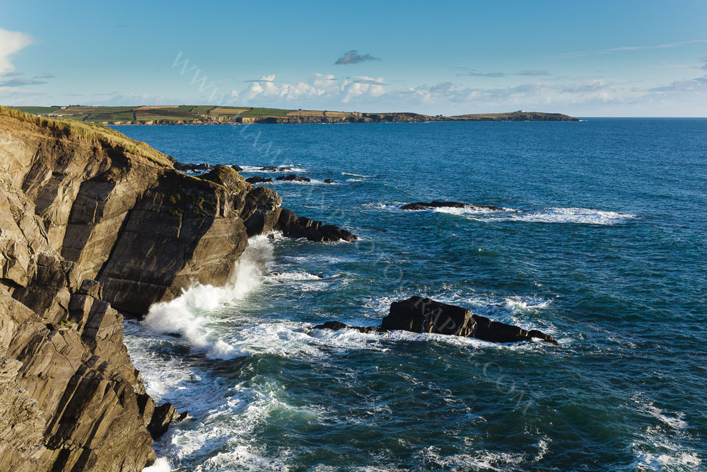 Cloghna Head With Galley Head in the Distance, West Cork Ireland.