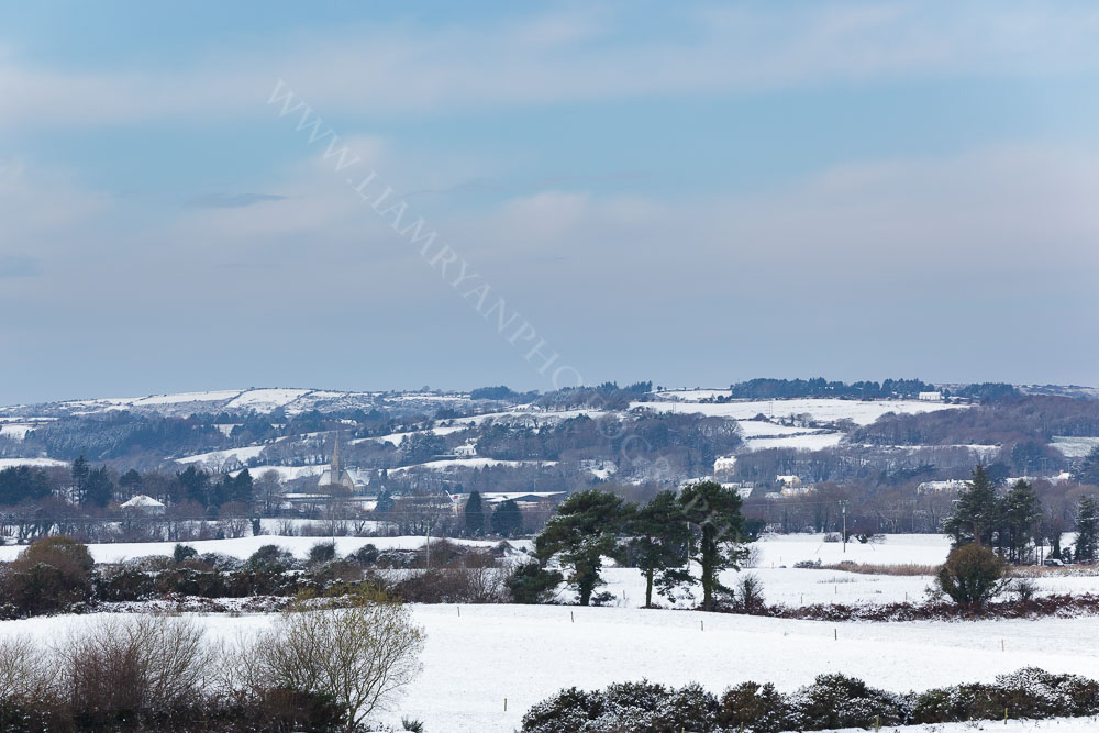 Enniskeane Co.Cork with a blanket of Snow