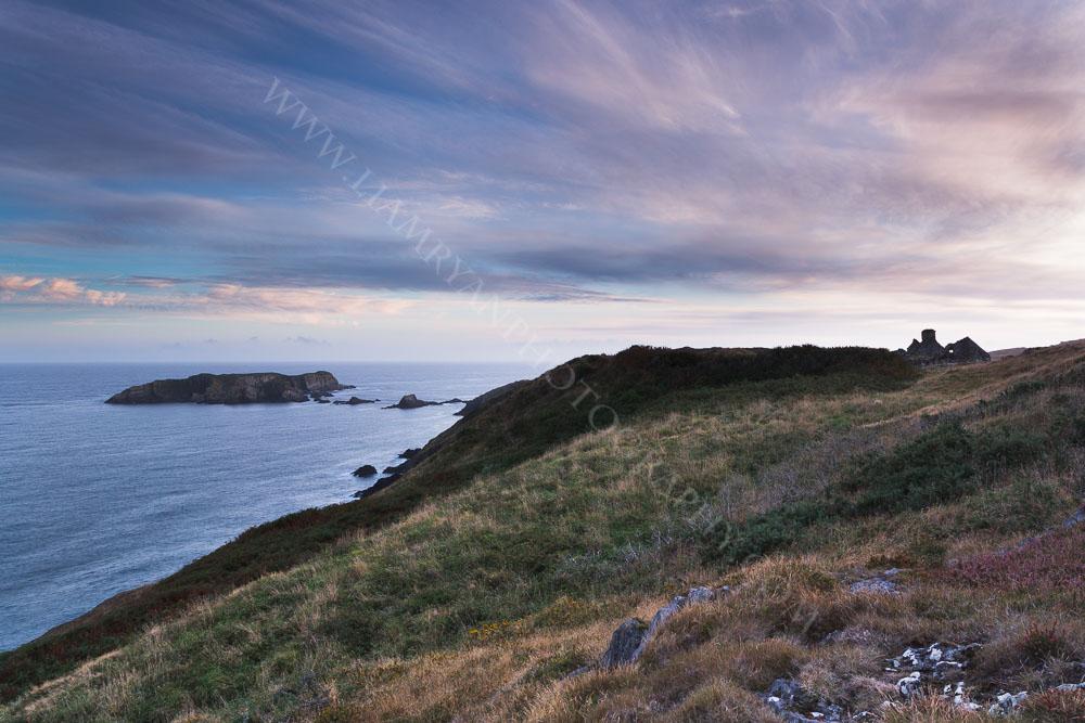 Sunset Kedge Rock near Baltimore Co.Cork Ireland