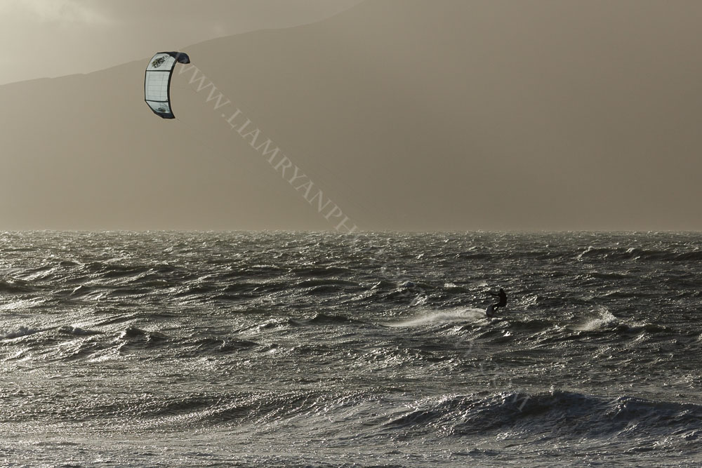 Kite Surfing, Brandon Bay, Kerry, Ireland