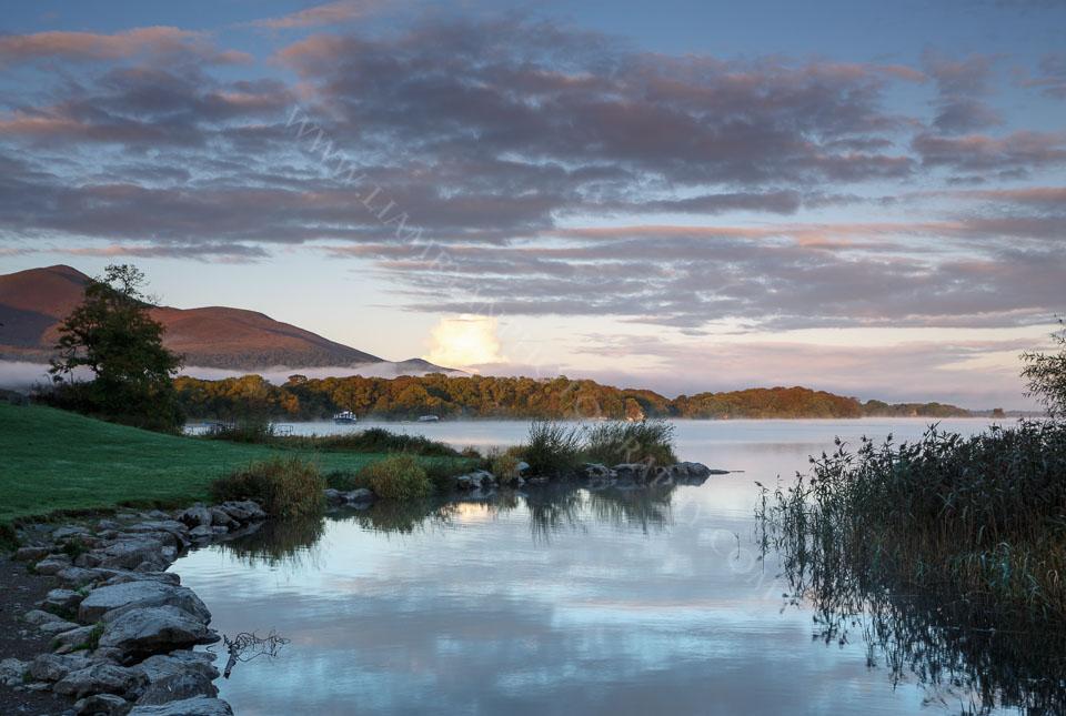 Sunrise at Lough Leane Killarney Co.Kerry