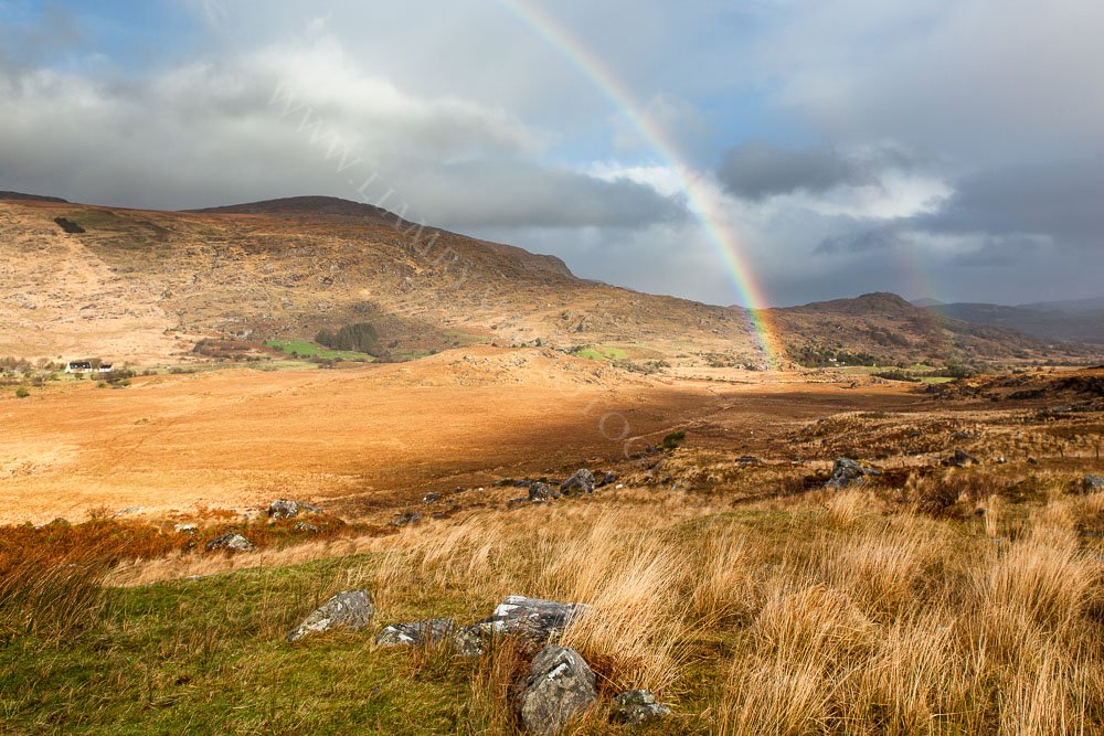 Rainbow Over Black Valley, Kerry, Ireland