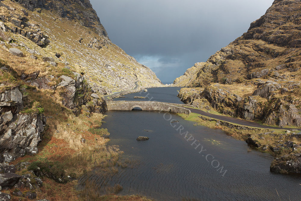 Gap of Dunloe on a stormy January Day