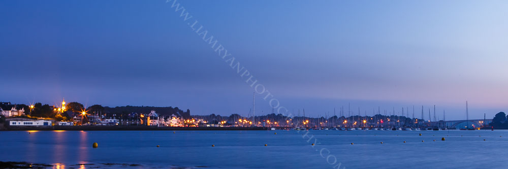 Blue Hour before Sunrise La Trinité-sur-Mer Brittany France