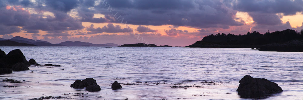 Winter Sunset Kenmare Bay Co.Kerry