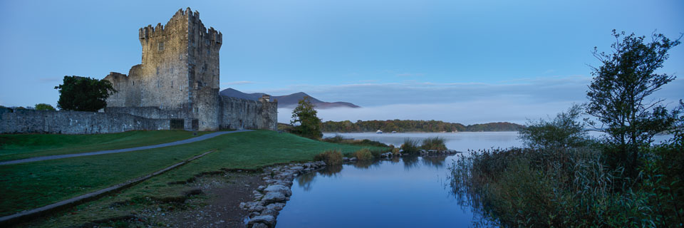 Glorious sunrise at Ross Castle, Killarney Co.Kerry
