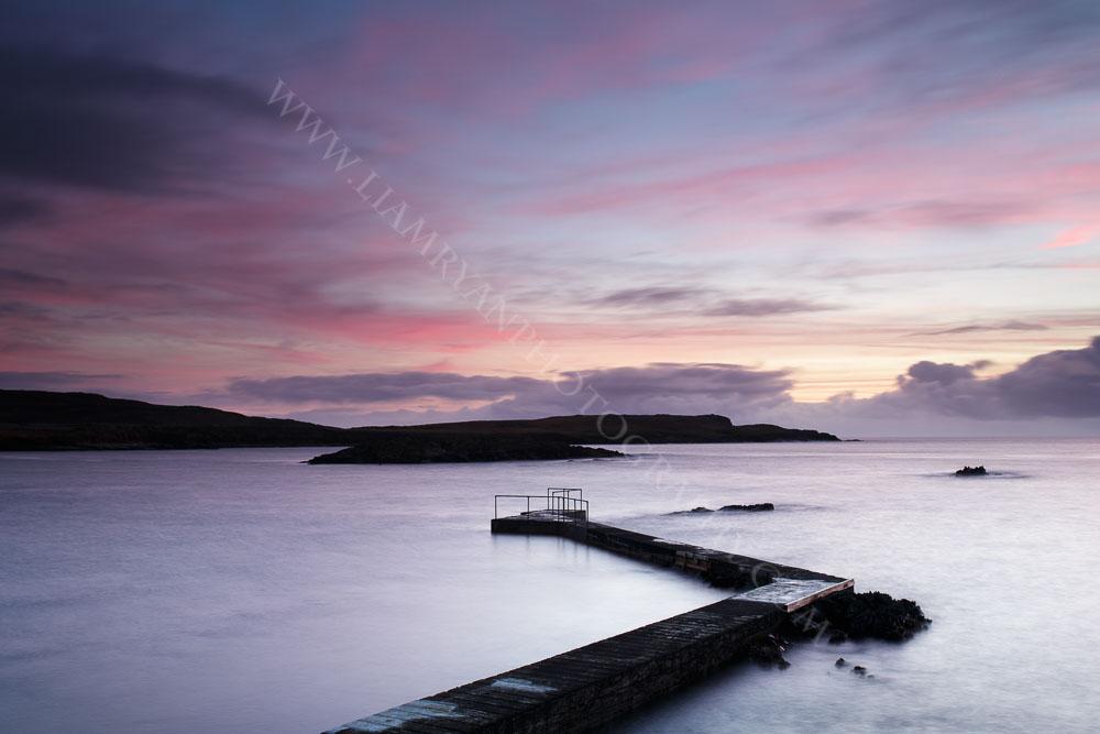 Winter Sunset, Cahermore West Cork Ireland
