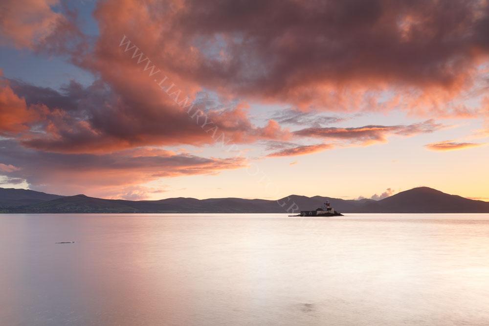 Sunset, Little Samphire Lighthouse Fenit, CoKerry