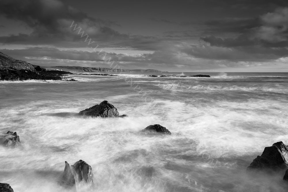 Rough seas on a stormy day in Simons Cove West Cork