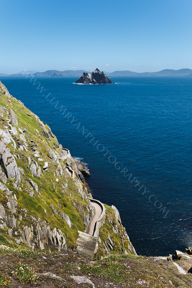 Skellig Beag taken from Skellig Michael